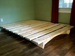 How to make a diy platform bed  lowe's, Use these easy diy platform bed  plans to make a stylish bed frame with storage. the plans include  dimensions for a ...