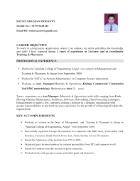 Career Objective For Resume For Experienced Software Engineers Career Objective for Resume for software Engineers New What is 1