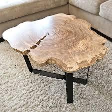 round live edge table round live edge coffee table live edge table leg designs