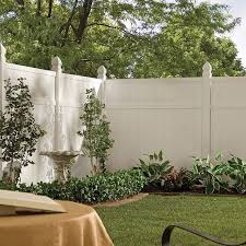 Brilliant Vinyl Privacy Fence Ideas Shop Gatehouse Arborley White In Design Inspiration