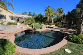 1320 rambling pool looking east bridle path simi valley
