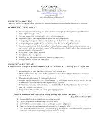 Media Specialist Sample Resume Best Solutions Of Marketing Specialist Resume For New Media 10
