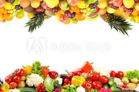 fruit and vegetables border.  Fruit Fruit And Vegetable Borders Inside And Vegetables Border