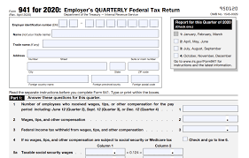 All employers who are liable for unemployment insurance (ui) must file tax and wage reports for each quarter they are in business. Irs Form 941 What Is It