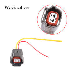warriorsarrow 2 pin fuel injector connector plug wire harness for vw Trailer Harness Connector at Pin Connector Plug Wire Harness