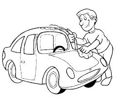 Kleurplaten Auto Wassen Brekelmansadviesgroep