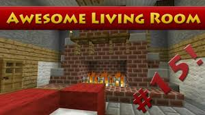 minecraft tutorials minecraft tutorial 15 how to build an awesome living room hd youtube build living room furniture