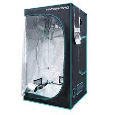 Light Proof Zipper Door Mars Hydro Indoor Grow Tent Plant Room 1680d High Reflective Mylar Dark Room Box