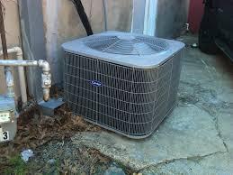 carrier 14 seer. 2012 carrier comfort series 3 ton central air conditioner 14 seer n