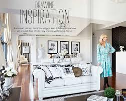 Haute Homes Inside The Home Of Fashion Illustrator Megan Hess - Home fashion interiors