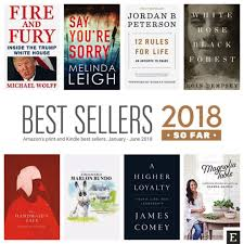 Amazons Best Selling Print And Kindle Books Of 2018 So Far