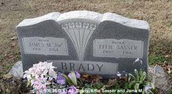 Effie Antwine Sasser Brady (1902-1966) - Find A Grave Memorial