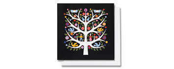 American Greetings Designer Collection Vitra Greeting Cards Tree Of Life