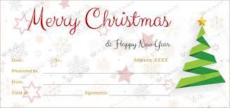 Printable Gift Certificate Templates 12 Beautiful Christmas Gift Certificate Templates For Word
