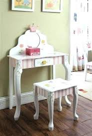 child vanity table chair fresh best hand painted chairs dressing stool set and princess vanity table