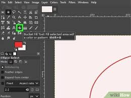 Right clicking this and choosing stroke doesn't appear to do anything either. How To Draw A Circle In Gimp With Pictures Wikihow