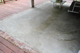paint concrete floorsA Concrete Floor Paint It Or Tile It  Young House Love