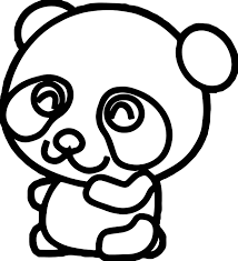 Small Picture Cute Kung Fu Panda Coloring Page Wecoloringpage