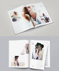 lookbook layout template 30 eye catching psd indesign brochure templates web graphic