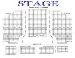 Gateway Playhouse Seating Charts