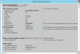 Datastage Designer Guide Troubleshooting Abap Extraction Jobs That Use Remote