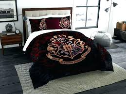 harry potter comforter harry potter bed set harry potter school motto twin full bedding comforter set