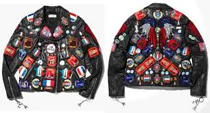 if you want your leather jacket to be prominent from the rest embellished patch is a great way you can always attach patches on your leather jacket by
