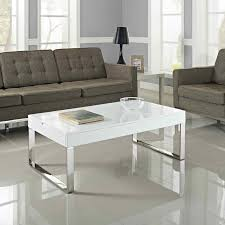 ... Coffee Table, Excellent White Rectangle Modern Glass Acrylic Coffee  Table IKEA Ideas To Improve Your ...