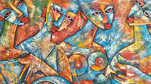 creative artistic painting art ilration work of art modern art ic book psychedelic art