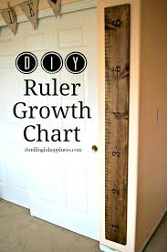 to make one you will need growth chart materials wood board wooden ruler canada