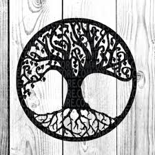 Life Of Treefamily Treetattoo For Cricut Sihlouette By Dxf Store