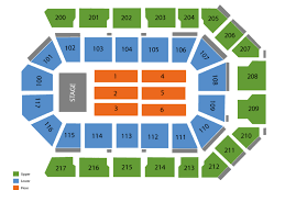 Rabobank Arena Seating Chart With Seat Numbers Tickets Page