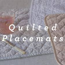 TABLE LINENS - BELLA NOTTE LUXURY HAND TOWELS PLACEMATS TABLE ... & Quilted Placemats Adamdwight.com