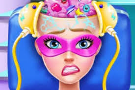 play makeover games for free mafa source super barbie brain doctor