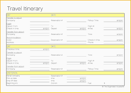 Business Trip Planner Business Travel Itinerary Template Excel Best Business Trip Planner