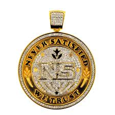 cpy1551 custom engraved diamond pendant cpy1551