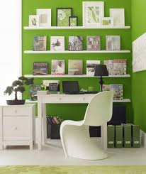 home office shelving solutions. Workspace-green-shelves_gal Home Office Shelving Solutions S