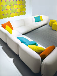 3 seater with removable cover mellow aqua collection by paola lenti