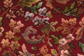 Floral Patterned Carpet