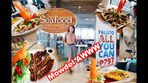 SEAFOOD CITY IN CEBU PHILIPPINES - YouTube