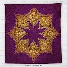 Royal Purple Throw Blanket