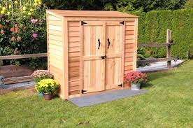 hewetson storage sheds compact series 65 x 3 patio wooden cedar shed small wooden garden sheds