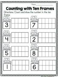 Printable Ten Frames Free Math Addition With Learning Number Frame ...