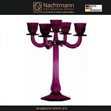 <b>Подсвечник 5</b>-<b>ти рожковый</b> 30 см хрусталь, <b>Nachtmann</b>, Германия ...