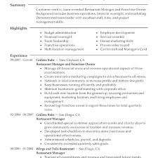 Business Management Resume Objective Examples Simple Resume Format