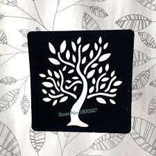 Indická Henna List život Strom Tetování šablony ženy Tělo Nohy