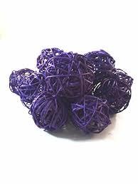 Decorative Bowl Filler Balls Amazon Decorative Spheres Purple Rattan Ball Vase Filler 86