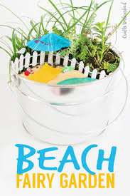 diy beach fairy garden idea consumer crafts