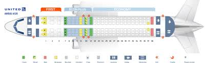 United Plane Seating Chart Seat Map Airbus A320 200 United Airlines Best Seats In Plane