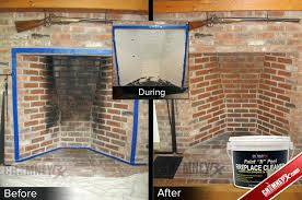 clean fireplace bricks clean fireplace bricks vinegar